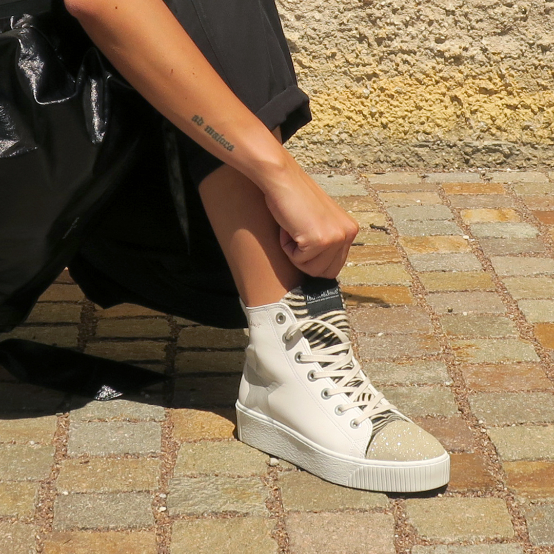 Sneakers donna bianche estate