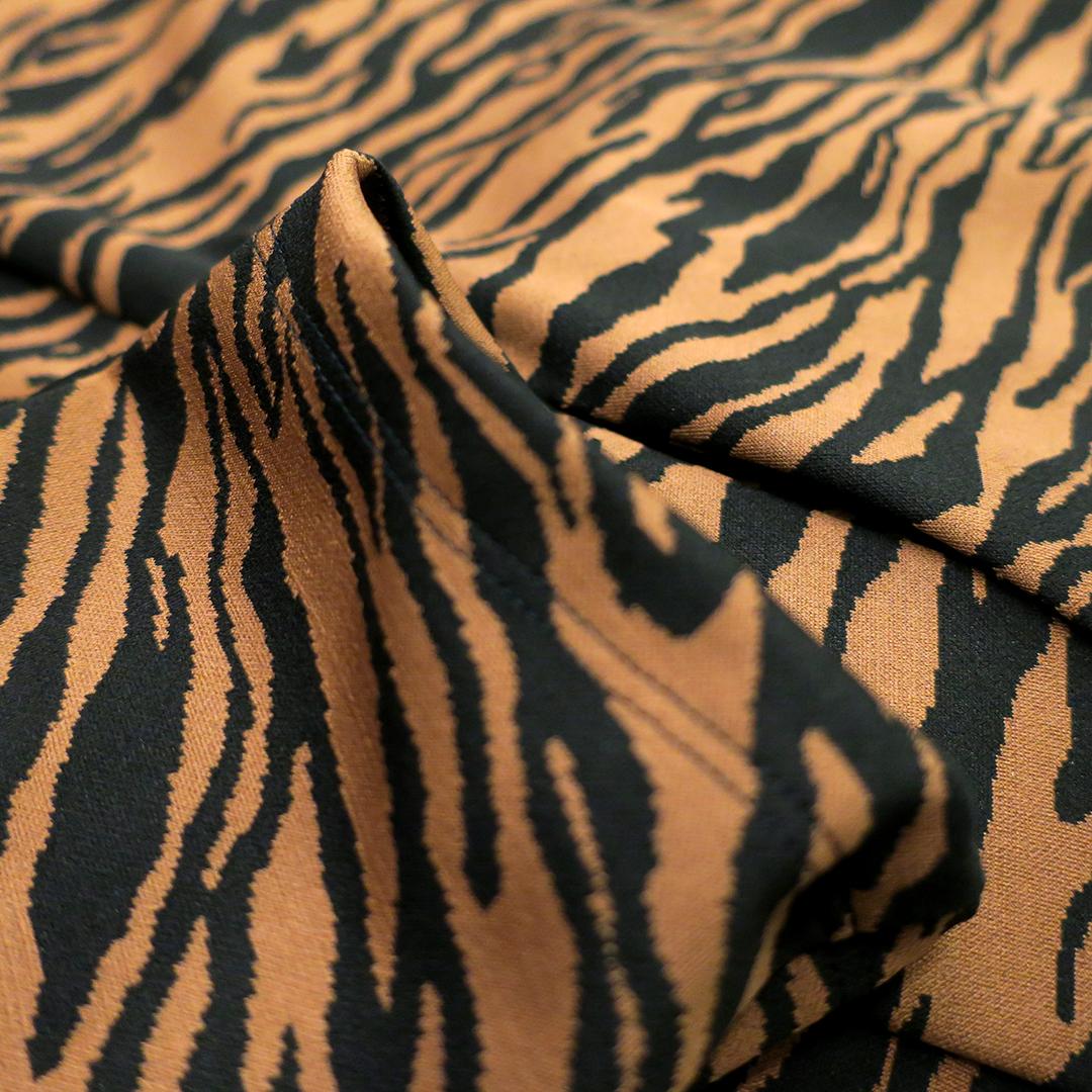 blazer donna zebrato nero cammello